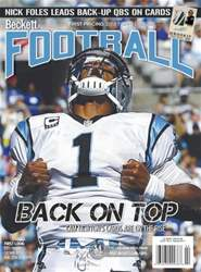 Beckett Football Magazine Cover