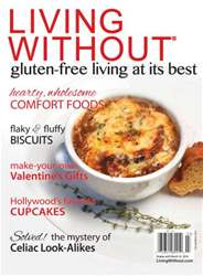 Gluten Free & More Magazine Cover
