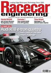 Racecar Engineering Feb 2014 issue Racecar Engineering Feb 2014