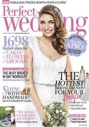 Perfect Wedding Magazine Cover