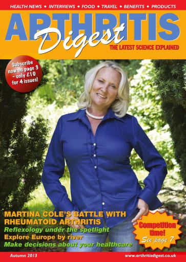 Arthritis Digest Digital Issue