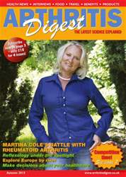 Arthritis Digest Magazine Cover