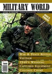 Military World Magazine Cover