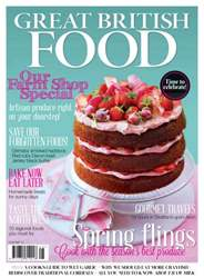 Great British Food Magazine Cover