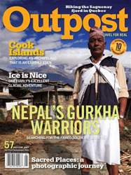 Outpost - Adventure Travel Magazine Magazine Cover