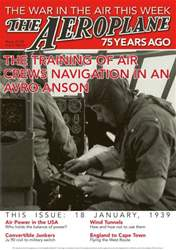 *18 The Training of Air Crews navigation in an Avro Anson issue *18 The Training of Air Crews navigation in an Avro Anson