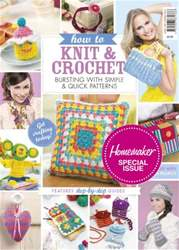 Knit & Crochet for Beginners issue Knit & Crochet for Beginners