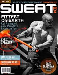 Sweat RX Magazine Cover