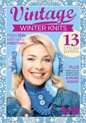 Vintage Winter Knits issue Vintage Winter Knits