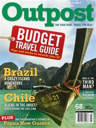 Outpost - Adventure Travel Magazine Magazine Cover