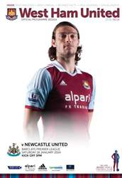 WEST HAM UNITED V NUFC issue WEST HAM UNITED V NUFC