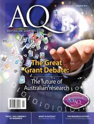 AQ: Australian Quarterly Magazine Cover