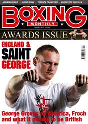 Boxing Monthly February  2014 issue Boxing Monthly February  2014