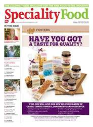 Speciality Food Magazine Cover