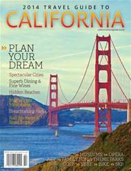 Travel Guide To California  2014 issue Travel Guide To California  2014