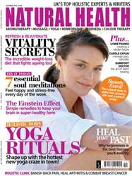 Natural Health Magazine Cover