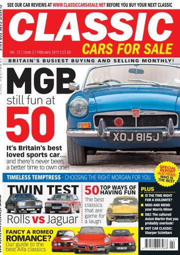 Classic Motoring Preview