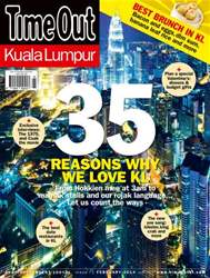 Time Out Kuala Lumpur Magazine Cover