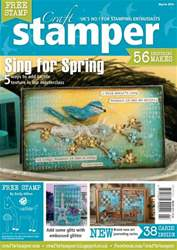 Craft Stamper - March 2014 issue Craft Stamper - March 2014