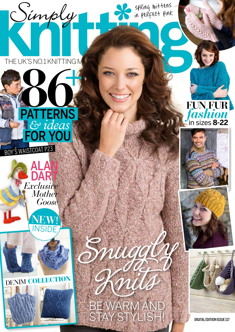 Simply Knitting Magazine : Simply knitting magazine issue subscriptions pocketmags