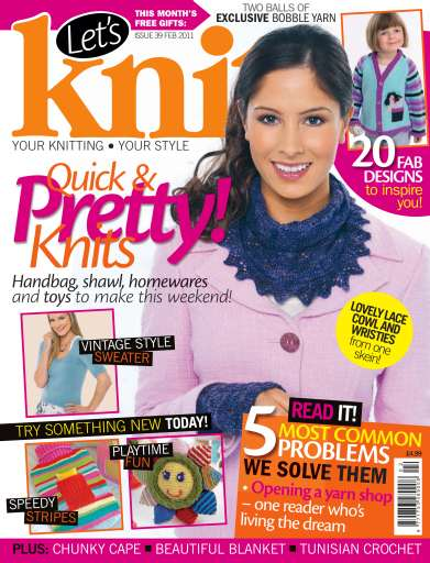 Let's Knit Digital Issue