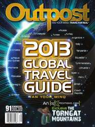 Annual Global Travel Guide #91 issue Annual Global Travel Guide #91