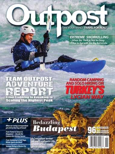 Outpost Adventure Travel Magazine Nov Dec 96