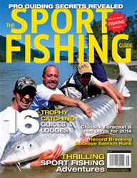Sport Fishing Guides Magazine Cover