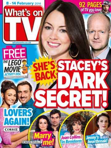 what 39 s on tv magazine 8th february 2014 subscriptions pocketmags. Black Bedroom Furniture Sets. Home Design Ideas