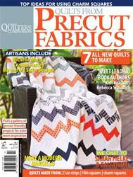 Quilts from Precut Fabrics #3 issue Quilts from Precut Fabrics #3