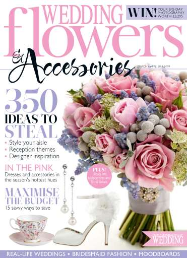 wedding flowers magazine marchapril 2014 subscriptions pocketmags. Black Bedroom Furniture Sets. Home Design Ideas