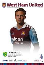 WEST HAM UNITED V NORWICH CITY issue WEST HAM UNITED V NORWICH CITY