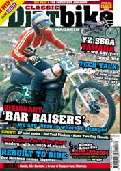 Classic Dirt Bike Magazine Cover