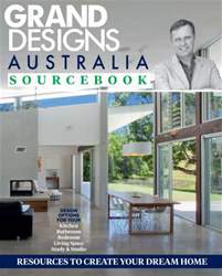 Grand Designs Australia Sourcebook #1 issue Grand Designs Australia Sourcebook #1
