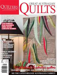 Great Australian Quilts #4 issue Great Australian Quilts #4