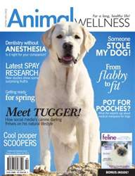 Animal Wellness Magazine Cover