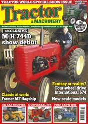 Tractor & Machinery Magazine Cover
