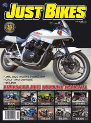 Just Bikes #297 14-08 issue Just Bikes #297 14-08