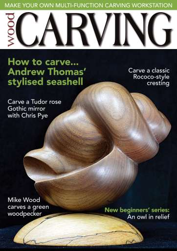 Woodcarving magazine march april subscriptions pocketmags