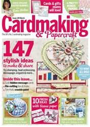 Cardmaking & Papercraft Magazine Cover