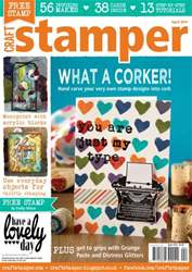 Craft Stamper - April 2014 issue Craft Stamper - April 2014
