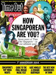 Time Out Singapore Magazine Cover