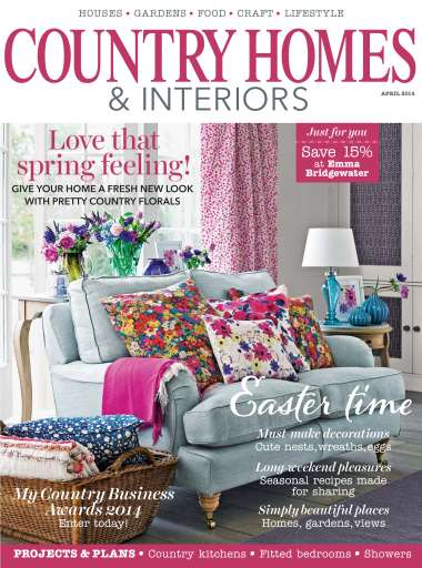 Country Homes And Interiors country homes & interiors magazine - april 2014 subscriptions