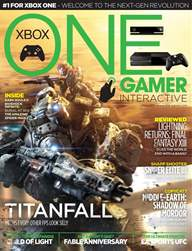 ONE GAMER Interactive 001 issue ONE GAMER Interactive 001