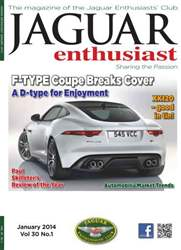 Vol 30 No.1 F-TYPE Coupe Breaks Cover issue Vol 30 No.1 F-TYPE Coupe Breaks Cover