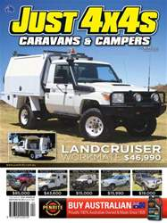 JUST 4X4S Magazine Cover