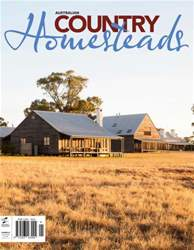 Australian Country Homesteads issue Australian Country Homesteads