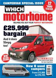 New and used campers - April 2014  issue New and used campers - April 2014