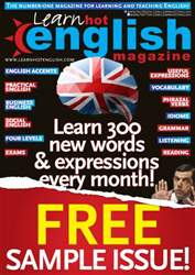 Sample issue Learn Hot English  issue Sample issue Learn Hot English