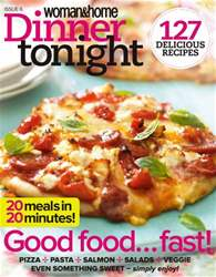 Woman & Home Dinner Tonight Magazine Cover